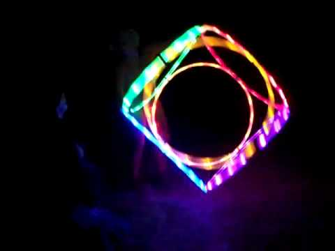 led hula hoops at oregon country fair 7,9,2010