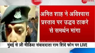Amit Shah spoke to Uddhav Thackeray over phone seeking Shiv Sena's support on no-confidence motion - ZEENEWS