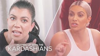 Kardashian Family Feuds All Sisters Can Relate To | KUWTK | E! - EENTERTAINMENT