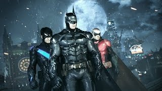 ستسطيع اللعب ب Robin, Nightwing و Catwoman بالإضافة إلى Batman في Arkham Knight