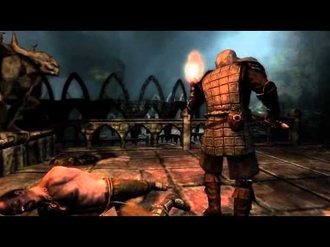 Skyrim Dawnguard - E3 2012 Skyrim Dawnguard Official Trailer gameplay dlc Expansion E3 2012 add on