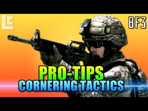 Pro Tips - How to Corner (Battlefield 3 Gameplay/Commentary)