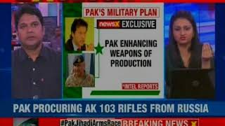 NewsX exclusive on Pak's military plan; enhancing weapons of production - NEWSXLIVE