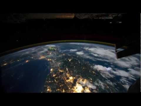 Time Lapse View from Space Station. NASA