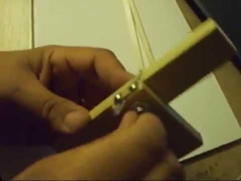 cortando madera balsa (homemade balsa strips cutter)