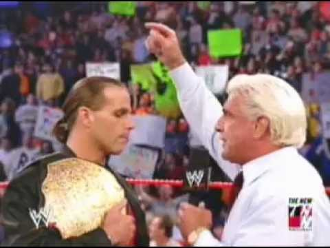 HBK Jeff hardy Triple H & Ric flair Segment
