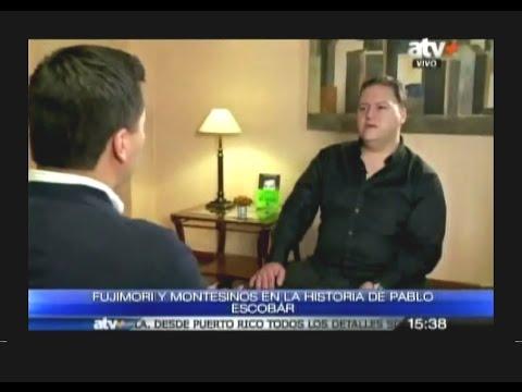 HIJO de PABLO Escobar: LA DEA NOS CHANTAJEO para ACUSAR a FUJIMORI (1)