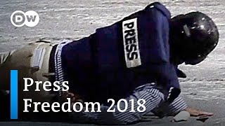 The deadliest year for journalists: 2018 press freedom index | DW News - DEUTSCHEWELLEENGLISH