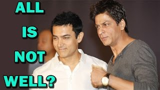Shahrukh Khan and Aamir Khan - All is not well? | Bollywood News - ZOOMDEKHO