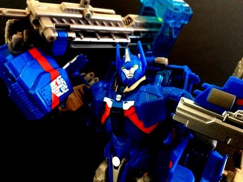 Kapow! Toys Reviews Transformers Prime RID Ultra Magnus