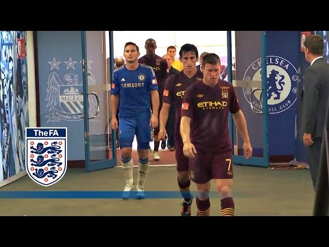 Chelsea v Man City Tunnelcam | The FA Community Shield 2012