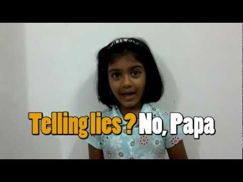 Nursery Rhymes Johnny Johnny Yes Papa by world's youngest teacher