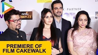 Cakewalk Short Film Premiere with Cast and other Celebs | Esha Deol | Hema Malini - HUNGAMA