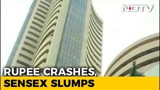 Sensex Dives Over 500 Points As Steps To Lift Rupee Fail To Cheer Street - NDTV