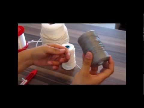 Como fazer tarrafa de pesca (materiais) - parte 1