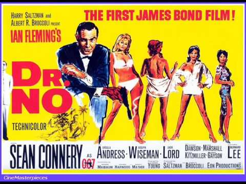"1. JOHN BARRY – JAMES BOND THEME (FROM ""DR. NO"")"