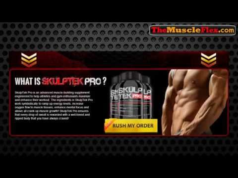 SkulpTek Pro Review - How To Get A Stronger Muscle Really Fast Using SkulpTek Pro Muscle Supplement