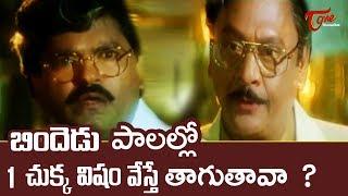 బిందెడు పాలల్లో 1 చుక్క విషం వేస్తే తాగుతావా? | Ultimate Movie Scene | TeluguOne - TELUGUONE