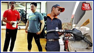 Ministers And Celebs Are Busy Proving Their Fitness, How Fit Is The Common Man ? - AAJTAKTV