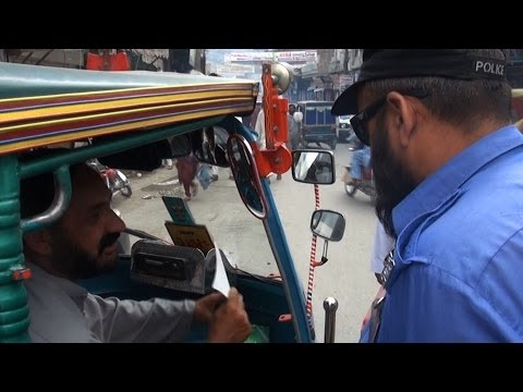 Why This Cop Traded His Gun For A Rickshaw In Swat Valley