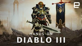 Diablo III on Nintendo Switch Hands-On - ENGADGET