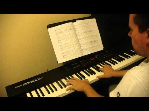 Mumford & Sons White Blank Page (piano instrumental cover)