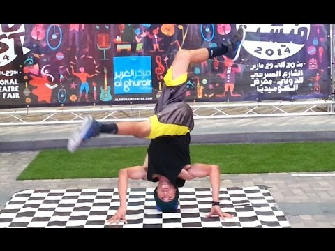 USA Break Dancers Dubfest 2014