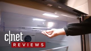 Samsung RT21M6213SR top freezer refrigerator review: Simple, yet stylis - CNETTV