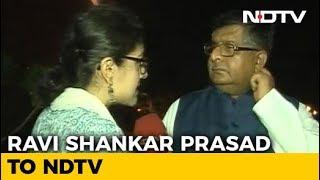 """Immature, Irresponsible"": Ravi Shankar Prasad's Dig At Rahul Gandhi - NDTV"