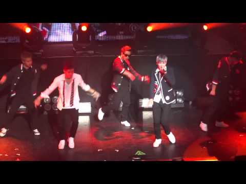 130507 - ZELO &amp; JONGUP DANCE &amp; NEVER GIVE UP @ CLUB NOKIA [B.A.P. Live On Earth LA]
