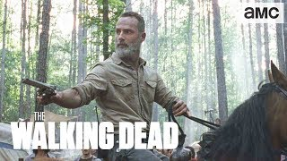 (SPOILERS) 'Rick's Vision' Inside BTS | The Walking Dead - AMC