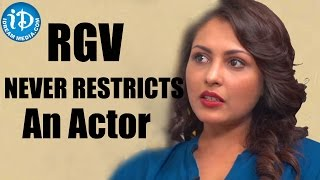 RGV Never Restricts An Actor - Madhu Shalini || Talking Movies with iDream - IDREAMMOVIES