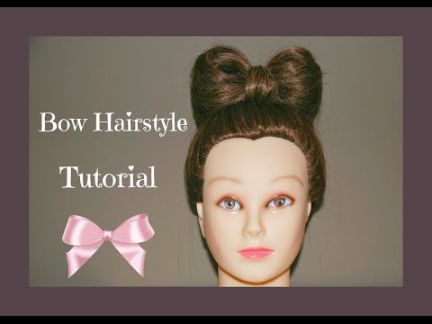 How to do a Hair Bow Hairstyle Tutorial