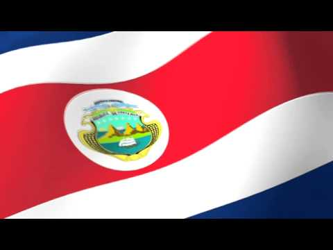 Flag of Costa Rica - Bandera de Costa Rica