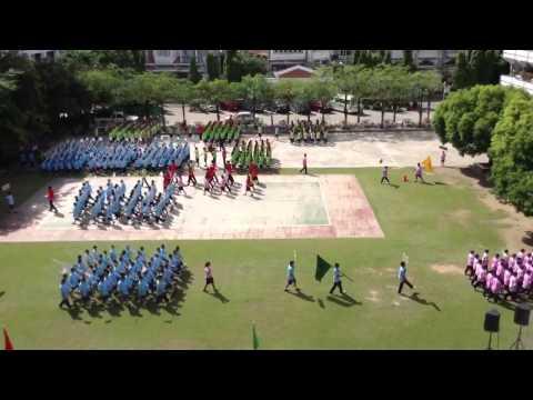 โรงเรียนโพฒิสารศึกษา - ซ้อมเดินสวนสนาม 28 มิถุนายน 2013