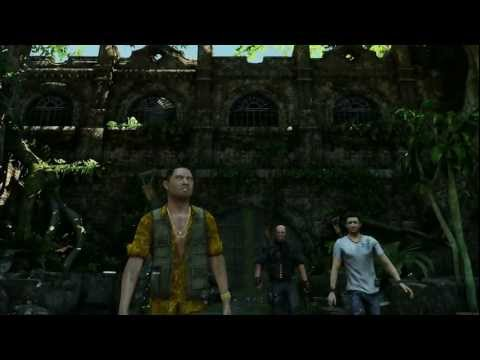 Uncharted 3 Fort Co-op Adventure trailer