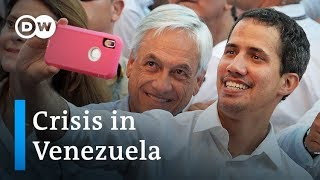 Can Maduro stop Guaido from crossing back into Venezuela with aid? | DW News - DEUTSCHEWELLEENGLISH