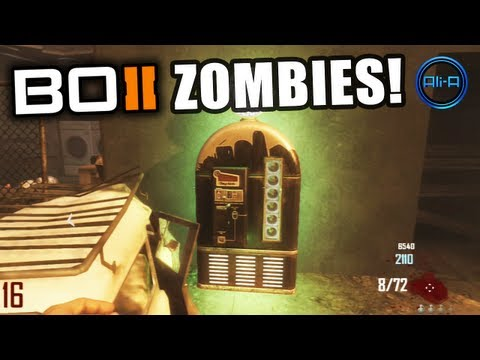 "Black Ops 2 ZOMBIES - ""TOMBSTONE"" Perk New Info! - Call of Duty BO2 Zombie Gameplay"