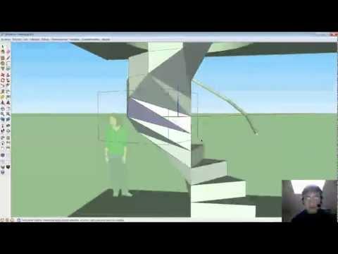Método fantástico para crear escaleras caracol o espiral