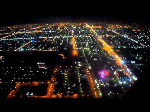 Saudi Arabian Airline MD90 Take-Off and Landing Cairo to Jeddah (Saudi Arabia) PT 4 of 7