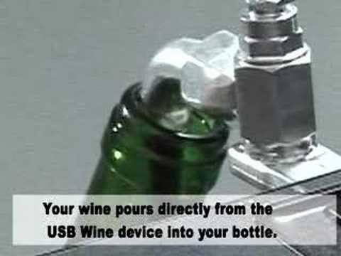 USB Wine, download wine straight from the vineyards !
