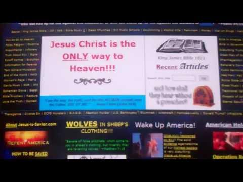 Hard hellfire sermons at Jesus-is-Savior.com.