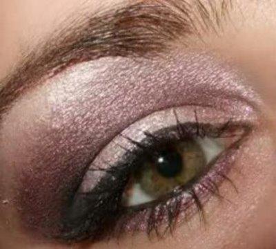 smoky purple eye makeup. Glamorous Purple Smoky eye