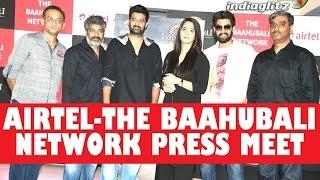 Airtel-The Baahubali Network Press Meet || #Baahubali2 || #Airtel4G || SS Rajamouli,Prabhas, Anushka - IGTELUGU