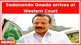 Operation Lotus | Meeting with Amit Shah likely post lunch; Sadananda Gowda arrives at Western Court - NEWSXLIVE