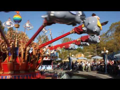 Dumbo at Disneyland HD