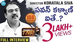 Bharath Ane Nenu Promotional Interview With Director Koratala Siva #7 || Frankly With TNR - IDREAMMOVIES