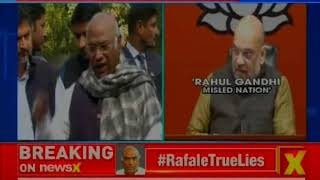 Rafale Row: Govt lied in SC that CAG report was presented in the house, says Mallikarjun Kharge - NEWSXLIVE