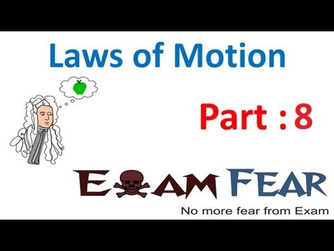 Physics Laws of motion part 8 (Newton third law) CBSE class 11