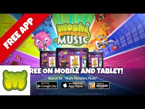 Moshi Monsters Music - The App - Out Now!